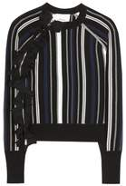 3.1 Phillip Lim Striped cotton-blend sweater