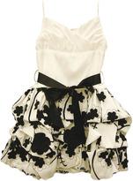 Jessica McClintock Tweens 7-16 Taffeta Dress with Raised Petals