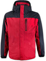 Hawke and Co. Outfitter Men's Colorblocked Wind-Stopper Hooded Jacket
