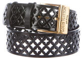 Louis Vuitton Laser Cut Leather Belt