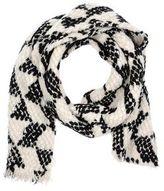 Maison Scotch Oblong scarf