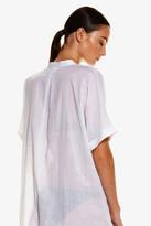 Seafolly Textured Voile Shirt Dress