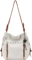 The Sak 207652 Ojai Cutout Bucket Hobo Bag