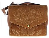 Sam Edelman Sophie Leather and Suede Shoulder Bag