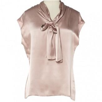 Lanvin Pink Silk Top for Women