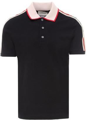 Gucci Logo Ribbon Polo Shirt