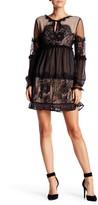 Romeo & Juliet Couture Peek-A-Boo Lace Dress
