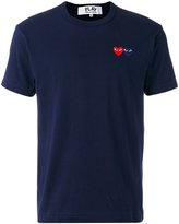 Comme des Garcons embroidered logo T-shirt - men - Cotton - L