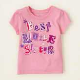 Children's Place Best sister graphic tee