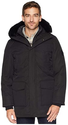 UGG Butte Parka (Black) Men's Coat