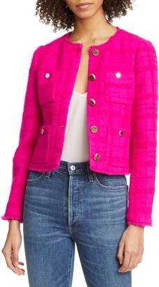 Ted Baker Ilex Wool Blend Tweed Jacket