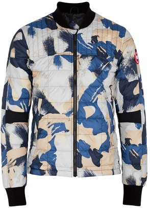 Canada Goose Dunham printed quilted shell jacket