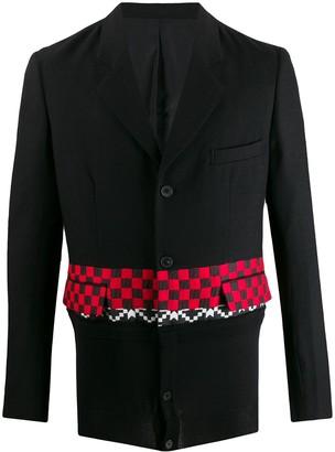 Haider Ackermann Checked Stripe Blazer