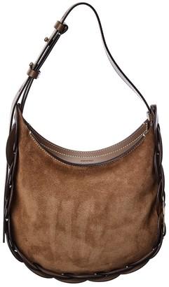 Chloé Darryl Small Suede Hobo Bag