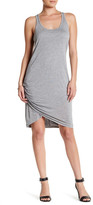Michael Stars Ruched Scoop Neck Tank Dress