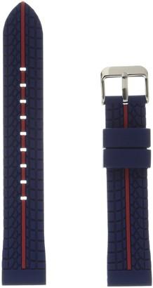 Hadley Roma MS3356RQ 200 Blue Silicone Watch Band