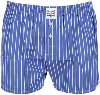MSGM Striped Boxer Shorts