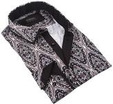 Coogi Print Regular Fit Dress Shirt
