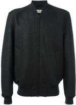 Marni classic bomber jacket - men - Cotton/Viscose/Virgin Wool - 46