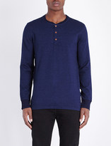 Levi's Bryant cotton-jersey henley top