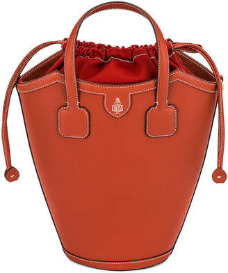 Mark Cross Madeline Bucket Bag in Picante | FWRD