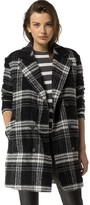 Tommy Hilfiger Plaid Insulated Coat