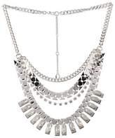 BCBGeneration Crystal Craze Bib Necklace