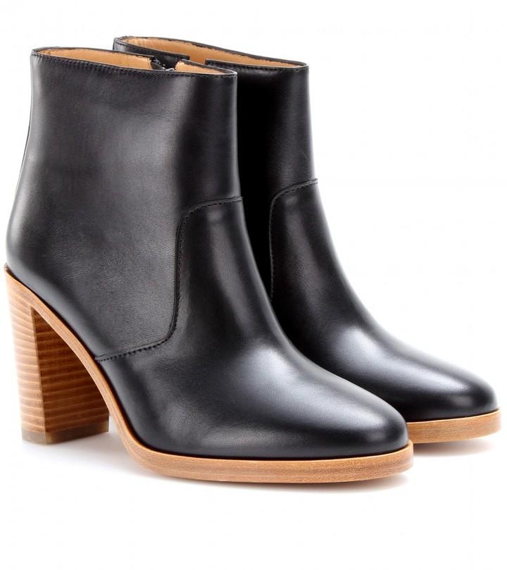 A.P.C. Talon leather ankle boots
