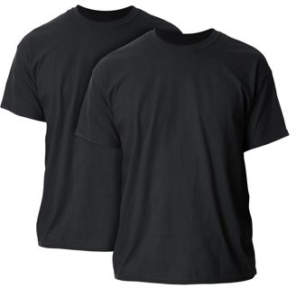 Gildan Mens and Big Mens Ultra Cotton T-Shirt, 2-Pack, up to size 5XL