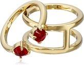 Rebecca Minkoff Stone Puzzle Ring, Size 7