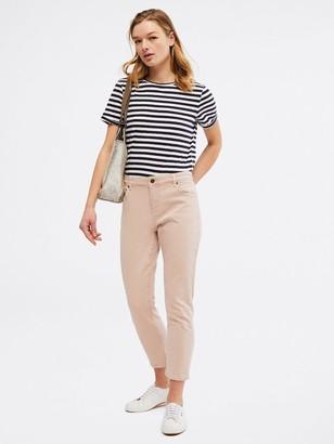 White Stuff Neo Fairtrade Jersey T-Shirt - Navy Stripe