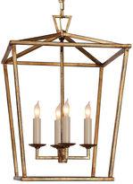 Visual Comfort & Co. Darlana Lantern, Gilded Iron
