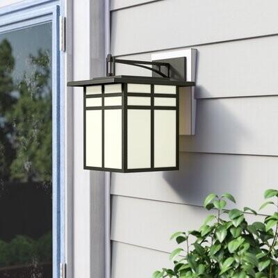 World Menagerie Bonfield 3 Light Outdoor Wall Lantern Shopstyle