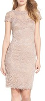 Tadashi Shoji Women's Embroidered Lace Sheath Dress