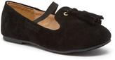 Black Tassel Jersey Loafer