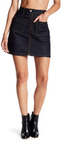 AG Jeans Becca A-Line Denim Skirt