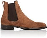 Salvatore Ferragamo Men's Darien Suede Chelsea Boots