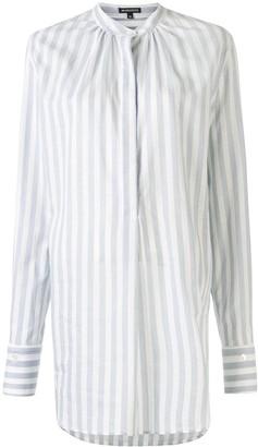 Ann Demeulemeester Striped Long Shirt