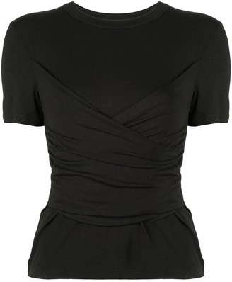 Alexis Slim-Fit Ruched Top
