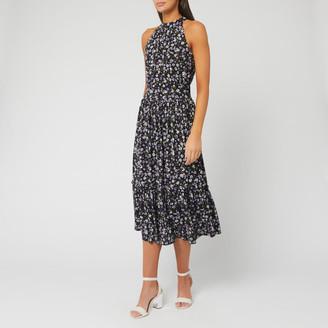 MICHAEL Michael Kors Women's Garden Patch Tier Midi Dress