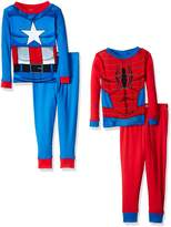 Marvel Boys' Avengers 4-Piece Pajama Set