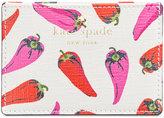 Kate Spade Hot Pepper-Print Card Holder