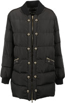 Moschino Faux Pearl Puffer Coat