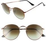 Ray-Ban Women's Icons 53Mm Retro Sunglasses - Blue/ Brown