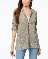 Style&Co. Style & Co French Terry Utility Jacket, Created for Macy's