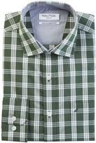 Nautica Wrinkle Resistant Pacific Plaid Shirt