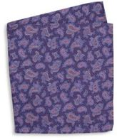 Ike Behar Two-Sided Dot Silk Pocket Square