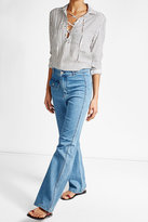See by Chloe High-Waisted Flare Jeans