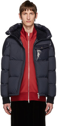 Moncler Navy Down Eloy Jacket