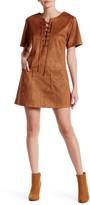 Raga Little Rock Faux Suede Dress